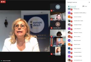 """DIBATTITO """"Una riflessione per l'Europa – State of the Union 2020"""""""