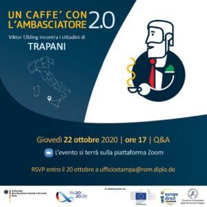 """""""Un Caffè con l'Ambasciatore 2.0"""" – Trapani"""