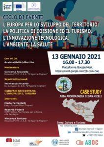Read more about the article Ciclo di Eventi: il turismo e la politica di coesione
