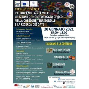 Read more about the article Ciclo di eventi – I giovani e la coesione