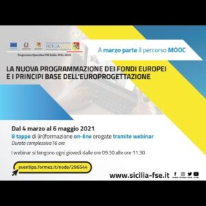 Read more about the article La nuova programmazione dei fondi europei e i principi base dell'europrogettazione
