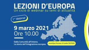 Dalla Comunità all'Unione. La storia dell'integrazione europea
