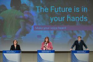 """Read more about the article Evento nazionale di lancio della Piattaforma della """"Conferenza sul futuro dell'Europa"""""""