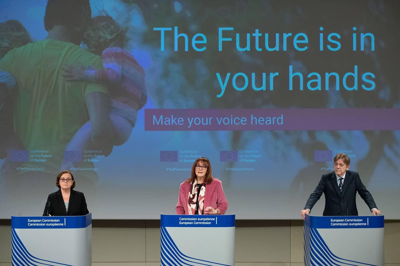 """You are currently viewing Evento nazionale di lancio della Piattaforma della """"Conferenza sul futuro dell'Europa"""""""