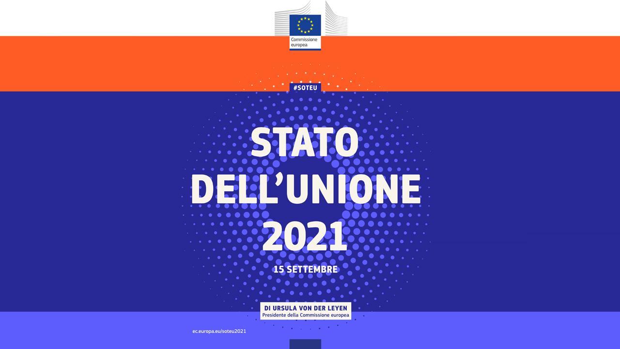 You are currently viewing Discorso sullo stato dell'Unione 2021 della Presidente von der Leyen
